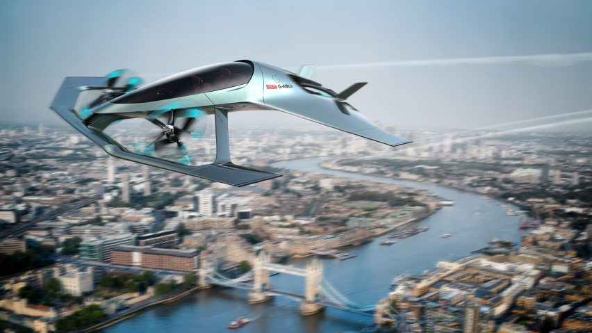 Aston-Martin flying car